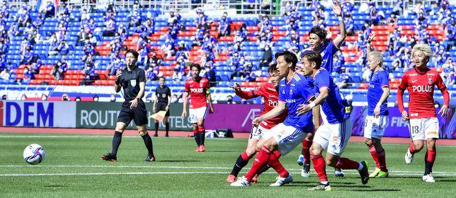 横浜Fマリノス、赤い悪魔を撃破!(1)CFWとして覚醒した「シン・前田大然」の画像035