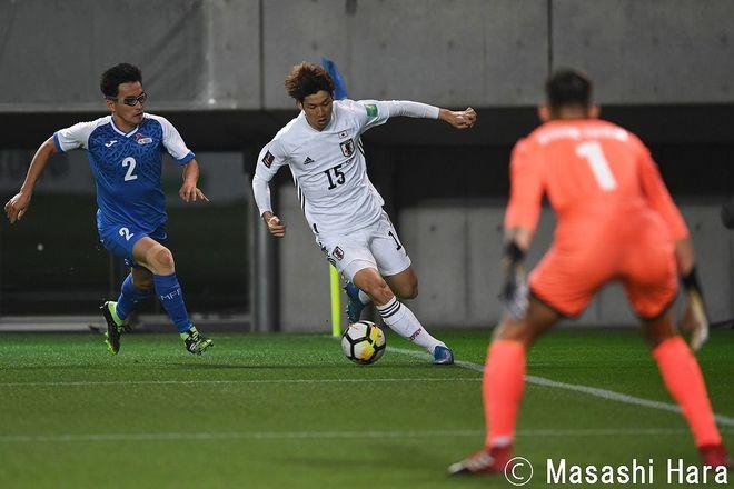 PHOTOギャラリー「ピッチの焦点」 【W杯アジア2次予選 日本代表vsモンゴル代表 2021年3月30日 19:30キックオフ】(原壮史)の画像007