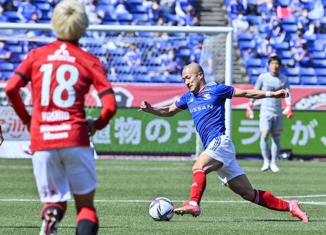 横浜Fマリノス、赤い悪魔を撃破!(1)CFWとして覚醒した「シン・前田大然」の画像001
